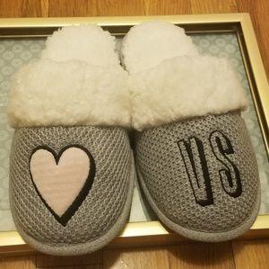 Victoria/'s Secret Slippers Heather Grey